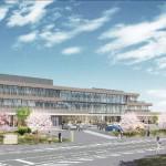 新庁舎・保健センターを公告 新築工事 26日まで参加受付 予定価格は約39億円(亘理町)