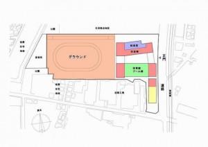 塚田第二小学校の配置イメージ