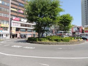 実態調査に着手する稲毛駅東口の駅前広場