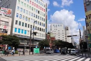 県内商業地で最も地価の高かった千葉市中央区富士見2丁目地区