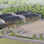 新設小学校の完成イメージ
