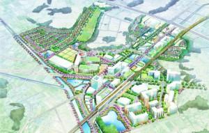 フジタが提案した「メディカルタウン」のイメージ