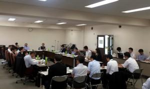 新庁舎の事業手法などが示された第5回会合