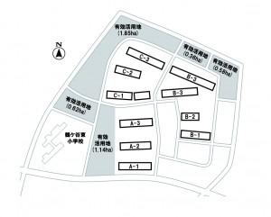 土地利用計画配置図