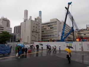 地価トップだった千葉市中央区富士見2丁目。千葉駅前東口再開発が進められている