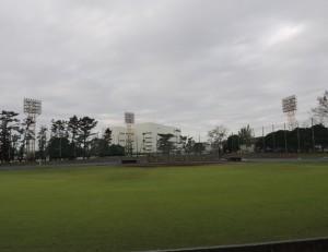 再整備で廃止となる野球場
