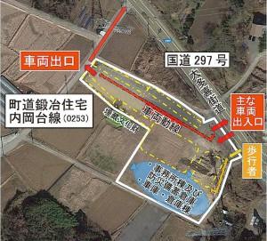 敷地利用イメージ図