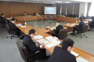基本計画について審議するまちづくり委員会