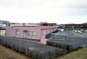 センタービル跡地に建つ赤坂保育園